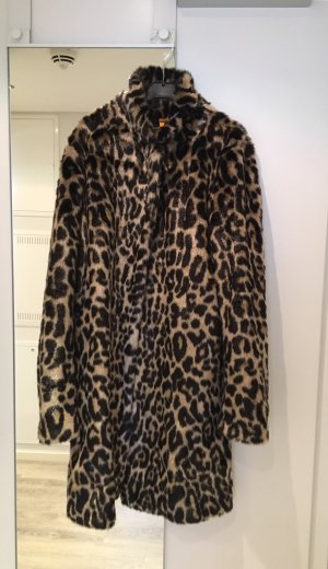 Leo Mantel Fake Fur