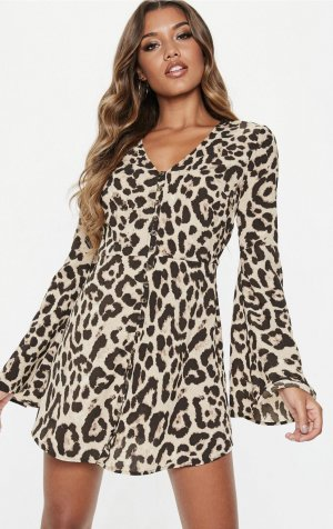 Leo Print Dress ❤️