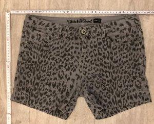 Stitch & Soul Baggy Pants black-grey