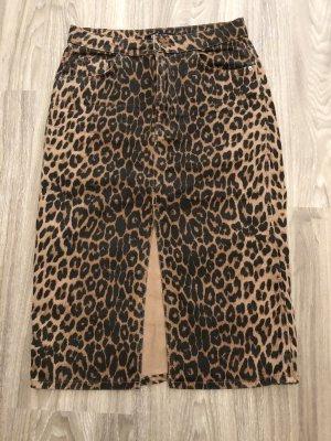 Zara Pencil Skirt black-bronze-colored