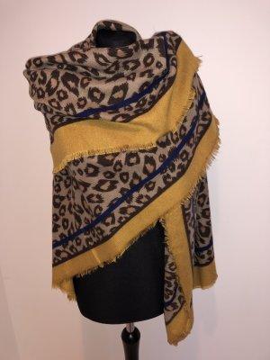 Made in Italy Sciarpa di lana multicolore