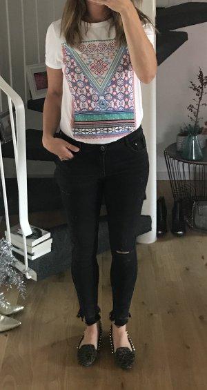 Zara Ballerines multicolore