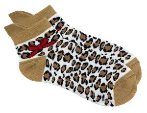 Leo Socken mit roter Schleifen onesize