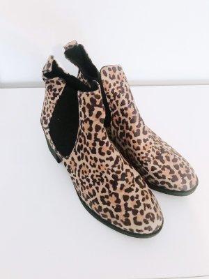 H&M Korte laarzen sleutelbloem-donkerbruin