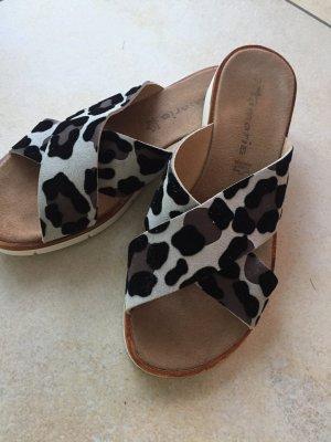 Tamaris Platform Sandals multicolored leather