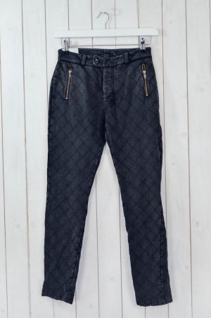 Leon & Harper Pantalon de jogging gris anthracite-gris foncé coton