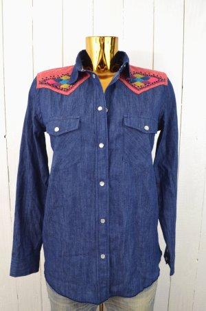 Damen hemd rot gebraucht kaufen nur 4 st bis 75 g nstiger for Jeanshemd damen lang