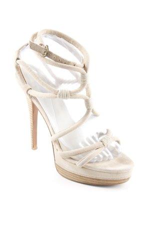 Leon Max High Heel Sandaletten beige