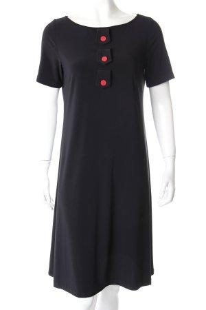 Leona Edmiston Blusenkleid schwarz Zierknöpfe