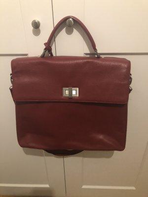 Leonhard Heyden Briefcase multicolored leather