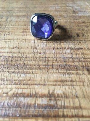 Leonardo Statement Ring silver-colored-purple