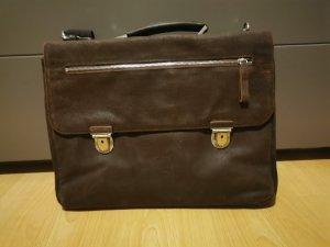 Leonhard Heyden Briefcase dark brown