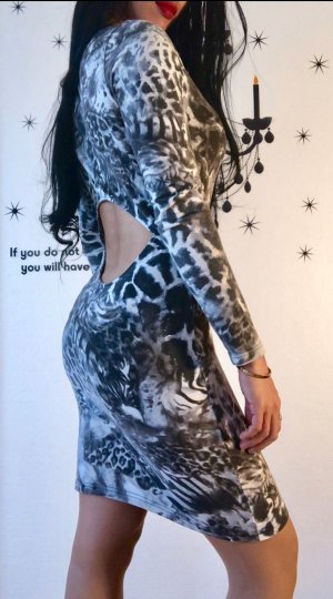 Leopard dress by river island