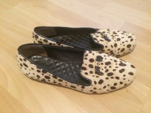 Leopard-Fell Slipper von Tory Burch