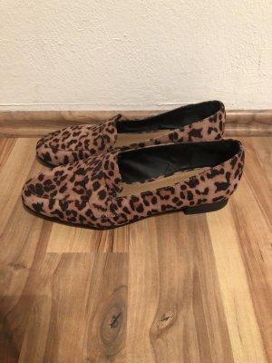 leopard loafers von Asos Gr 41