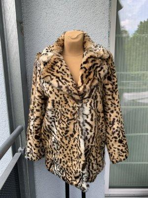 Leopard Mantel H&M braun 38