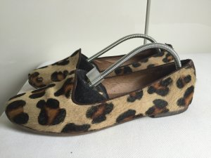 Leopard-Optik Ballerina aus Fell