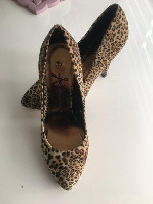 Leopard Schuhe ungetragen top
