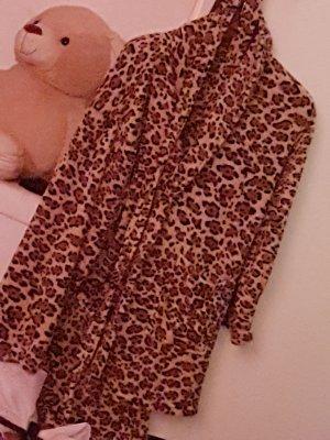 leoparden Bademantel
