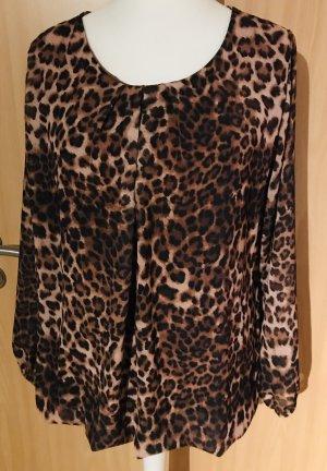 Leoparden Bluse