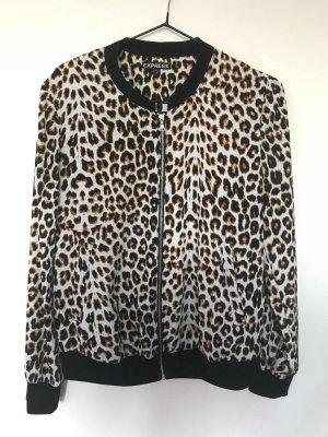 Leoparden Bomberjacke