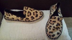 Leoparden Espadrilles-Sneakers