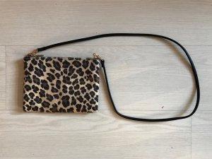 Leoparden Haar Mini Tasche
