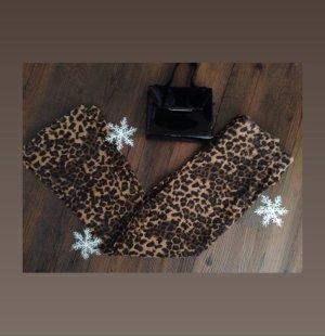 Leoparden Hose highwaist schlag