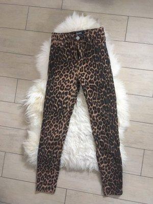 Zara Pantalone a vita alta multicolore