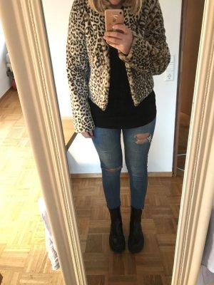 Leoparden Kurzjacke