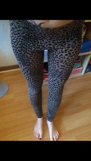 Leoparden Leggings S