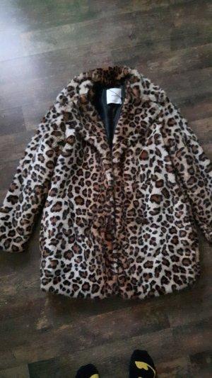 Leoparden Mantel von Mango