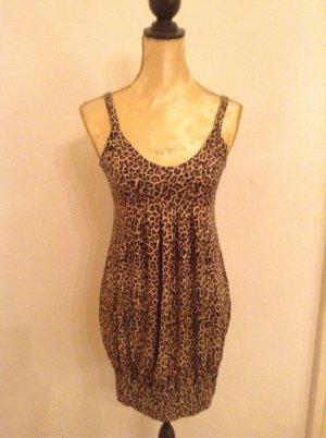 Leoparden-Muster-Kleid