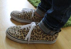 Leoparden-Muster, Sneaker, 38