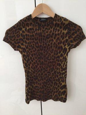 Leoparden Muster T-Shirt von Kookai