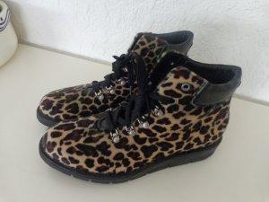Leoparden -Print Stiefeletten Gr 41 ***