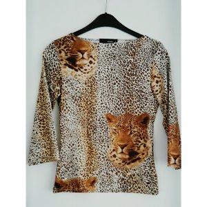 Leoparden Printshirt