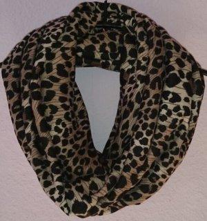 Leoparden Schal Loop Schlauchschal
