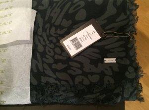 Leoparden-Schal von Repeat in Grautönen - neu, nie getragen! Schick!