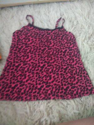 leoparden Schlafanzug top