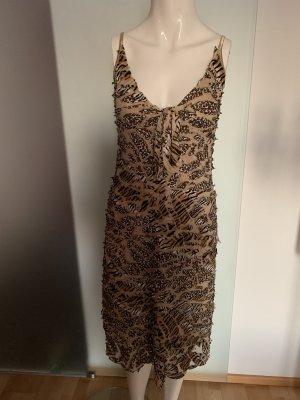 Leoparden Tiger Kleid von Ana Alcazar Gr 36 38 S