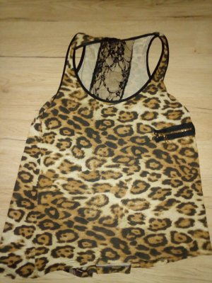 Leoparden top in xs/s