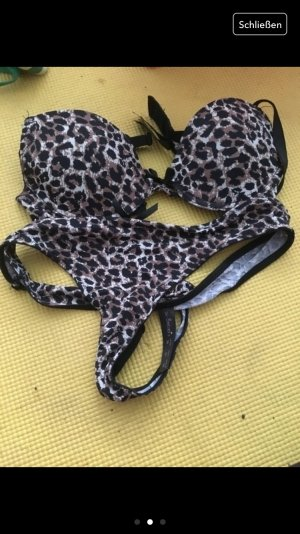 Leopardenbh ohne push up in 70A