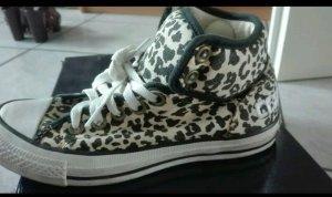 Leopardenen Converse Schuhe