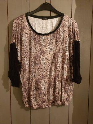 leopardenfarbenes 3/4 ärmeliges T-Shirt von mötivi