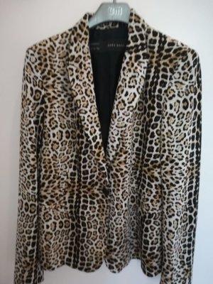 Leopardenmuster Blazer