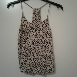 Leopardenmuster Top.