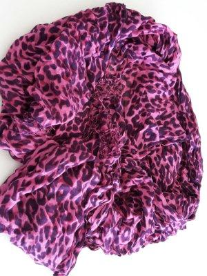 Leopardenschal pink Tchibo