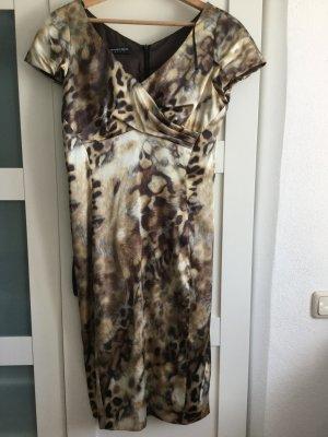 Leopardprint Kleid Gr 36-Kleid ist neuwertig