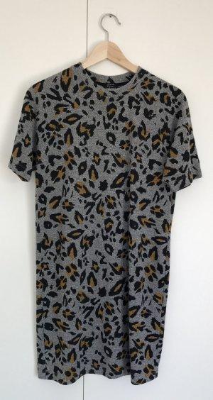 Leoprint T-Shirtkleid von ZARA